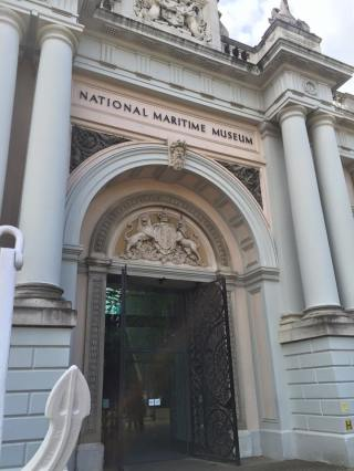 National Maritime Museum in Greenwich (via K. Emmons)