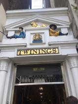 Twinings Teashop and Museum (via K. Emmons)